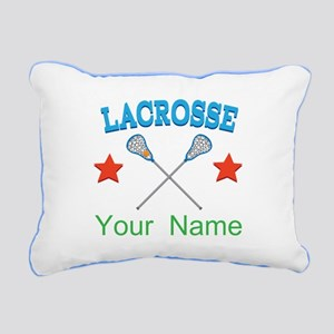 Lacrosse Personalized Star Rectangular Canvas Pill