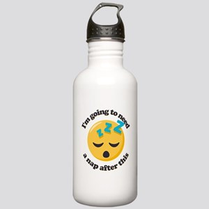Need a Nap Emoji Stainless Water Bottle 1.0L
