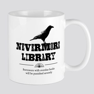 Nevermore Library Mugs