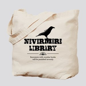 Nevermore Library Tote Bag