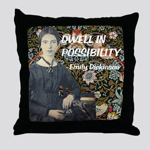 Dwell in Possibility Throw Pillow