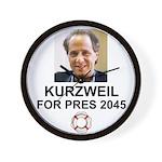 Kurzweil Wall Clock