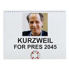 Kurzweil Wall Calendar