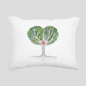 HeartWood Rectangular Canvas Pillow