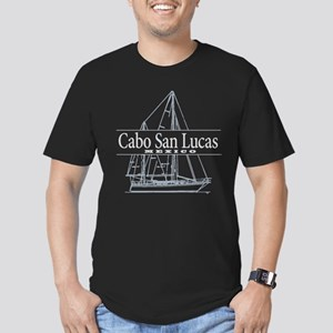 Cabo San Lucas - Men's Fitted T-Shirt (dark)