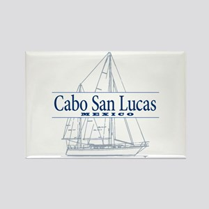 Cabo San Lucas - Rectangle Magnet