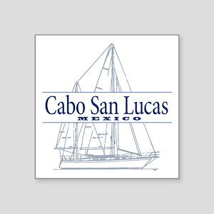 "Cabo San Lucas - Square Sticker 3"" x 3"""