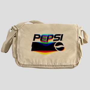 Pepsi Logo Glitch Messenger Bag