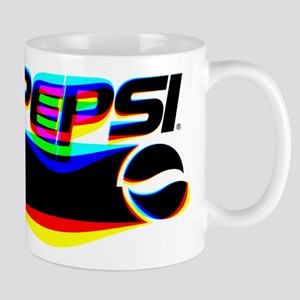 Pepsi Logo Glitch 11 oz Ceramic Mug
