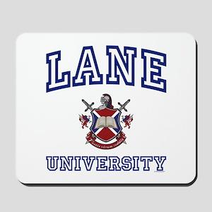 LANE University Mousepad