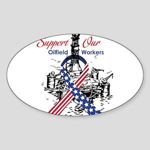 oilfield_support Sticker (Oval)