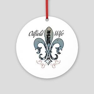 oilfield wife Ornament (Round)
