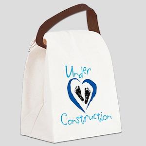 under contruction_boydark Canvas Lunch Bag