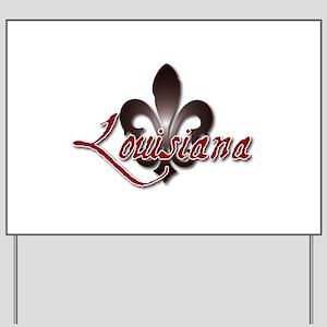 Louisiana Yard Sign