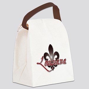 Louisiana Canvas Lunch Bag