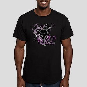 dance girl2 Men's Fitted T-Shirt (dark)
