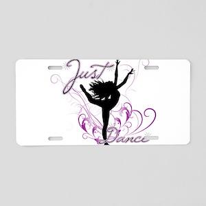 dance girl2 Aluminum License Plate