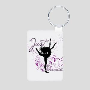 dance girl2 Aluminum Photo Keychain
