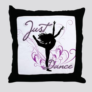 dance girl2 Throw Pillow