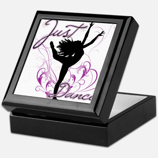 dance girl2 Keepsake Box