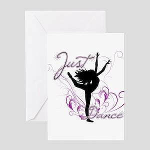 dance girl2 Greeting Card