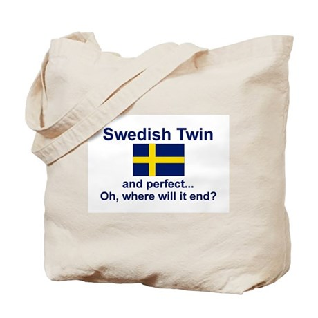Perfect Swedish Twin Tote Bag