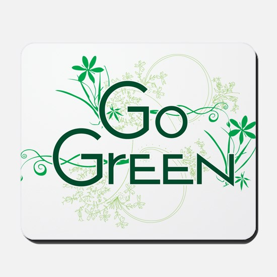 Go Green Design Mousepad