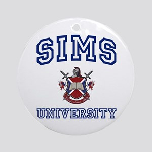 SIMS University Ornament (Round)