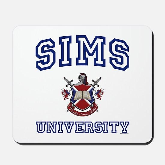 SIMS University Mousepad