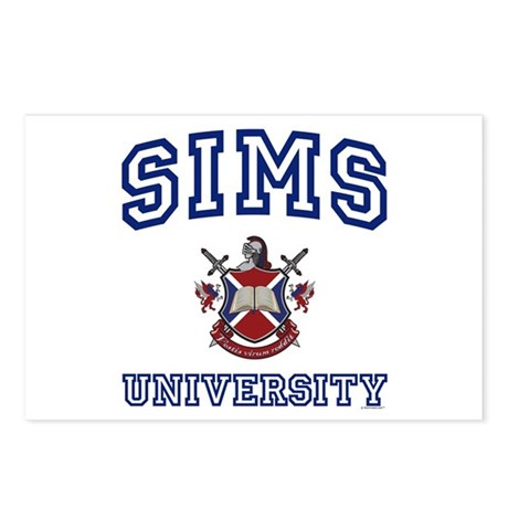 SIMS University Postcards (Package of 8)