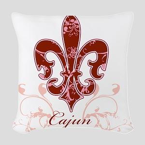 fleur_de_lis2 Woven Throw Pillow
