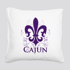 cajun Square Canvas Pillow