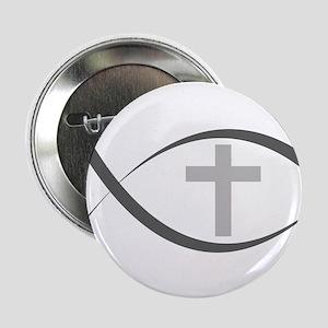 "jesus fish_reverse 2.25"" Button"