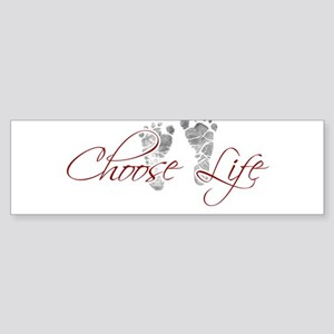 choos life Sticker (Bumper)