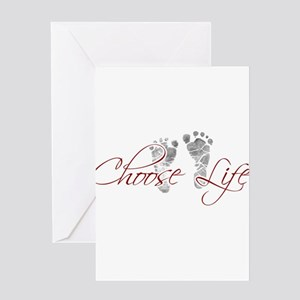 choos life.png Greeting Card