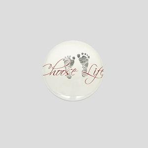 choos life Mini Button