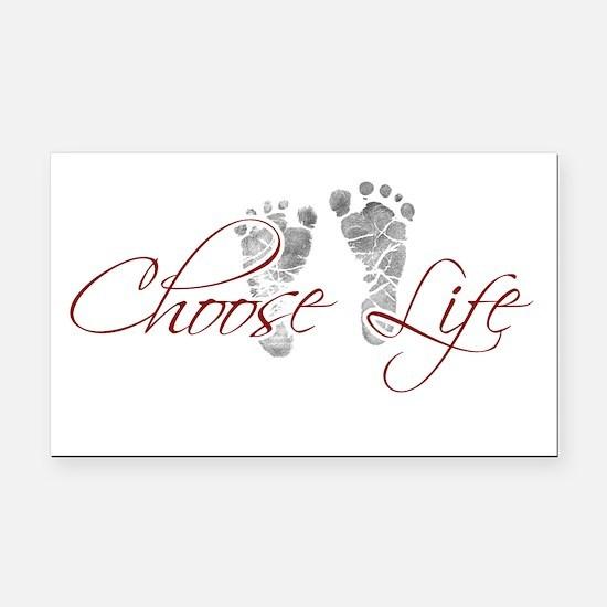 Choos Life.png Rectangle Car Magnet