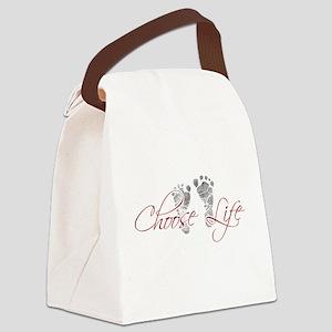 choos life Canvas Lunch Bag
