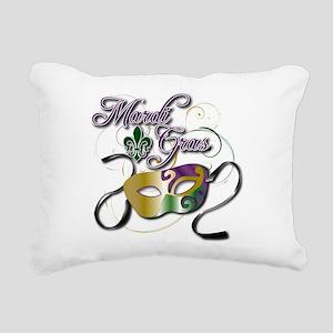 Mardi Gras Rectangular Canvas Pillow