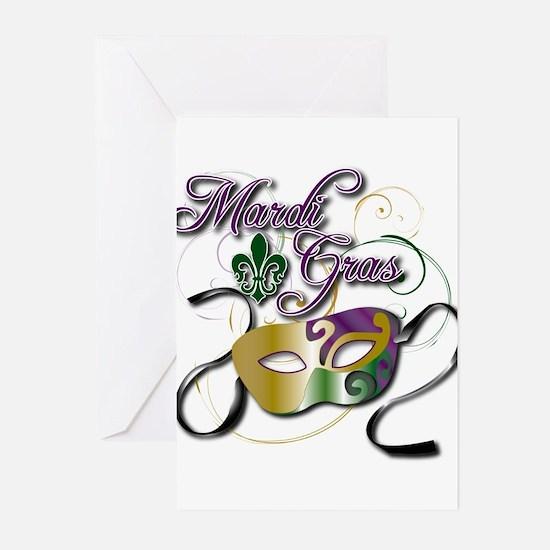 Mardi Gras Greeting Cards (Pk of 20)