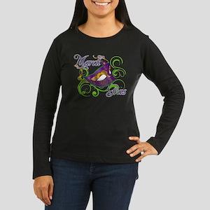 MardiGras Women's Long Sleeve Dark T-Shirt