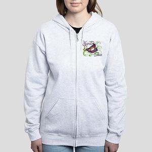 MardiGras Women's Zip Hoodie