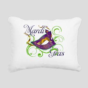 MardiGras Rectangular Canvas Pillow