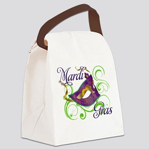 MardiGras Canvas Lunch Bag