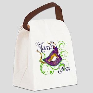MardiGras Canvas Lunch Bag
