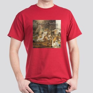 """Peaceful Dwelling"" Fine Art Dark T-Shirt"