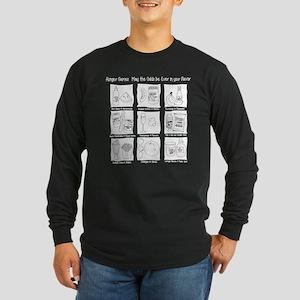 Hunger Games: Odd Flavors Long Sleeve Dark T-Shirt