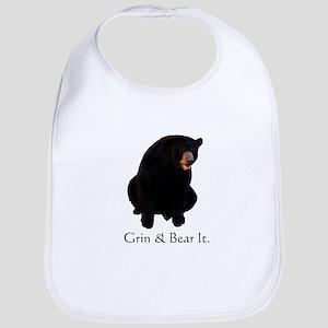 grin & bear it Bib
