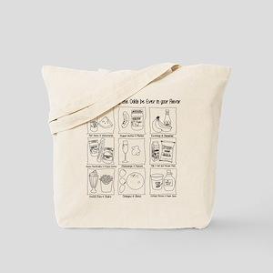 Hunger Games: Odd Flavors Tote Bag