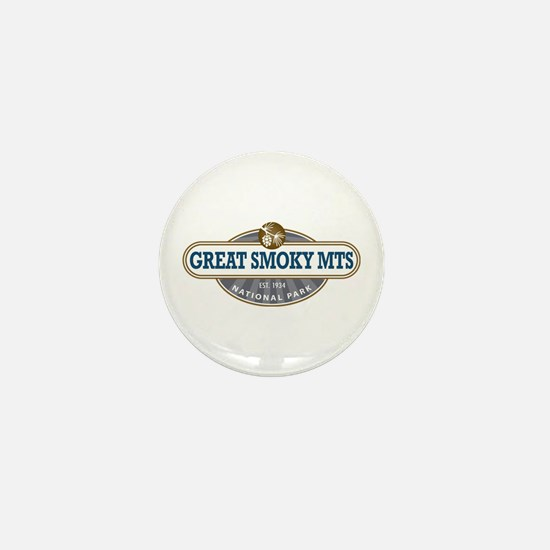 The Great Smoky Mountains National Park Mini Butto